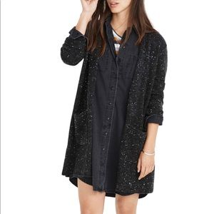 Madewell Kent donegal cardigan